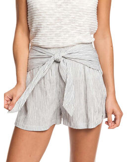 MOOD INDIGO DOT WOMENS CLOTHING ROXY SHORTS - ERJNS03268-BSP2