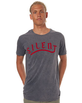 NAVY MENS CLOTHING SILENT THEORY TEES - 4001025NAVY