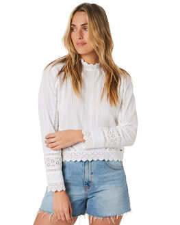 WHITE WOMENS CLOTHING O'NEILL FASHION TOPS - 5921206WHITE
