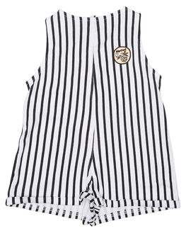 WHITE KIDS TODDLER GIRLS RIP CURL PLAYSUITS + OVERALLS - FDRAS11000
