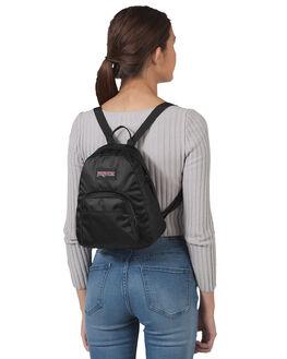 LUSCIOUS BLACK WOMENS ACCESSORIES JANSPORT BAGS + BACKPACKS - JS0A3C4SJS6P7LUBK