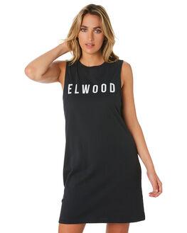 BLACK WOMENS CLOTHING ELWOOD DRESSES - W01713BLK