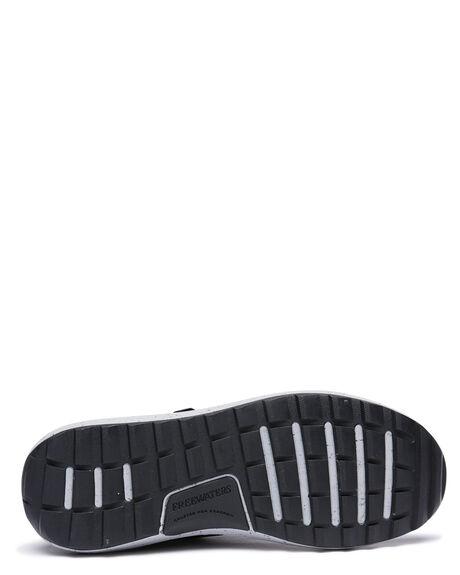 BLACK/GREY MENS FOOTWEAR FREEWATERS SNEAKERS - MC-037-BKGY