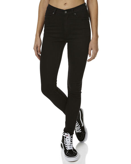 NEW BLACK WOMENS CLOTHING CHEAP MONDAY JEANS - 0216007NEW