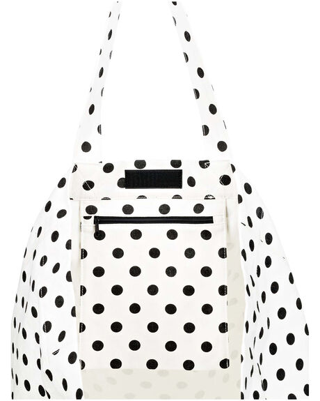 BRIGHT WHITE DOTSY WOMENS ACCESSORIES ROXY BAGS + BACKPACKS - ERJBT03184-WBB7