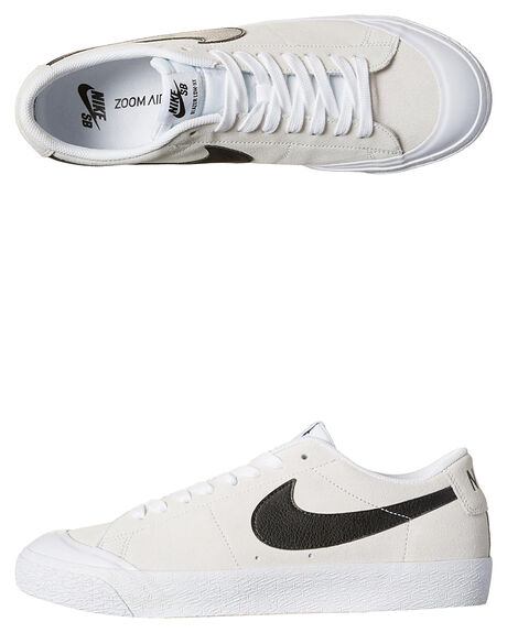 Nike Sb Air Zoom Blazer Low Xt Shoe - Summit White Black  040a0e842