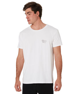 WHITE MENS CLOTHING ALOHA ZEN TEES - AZ465WHT