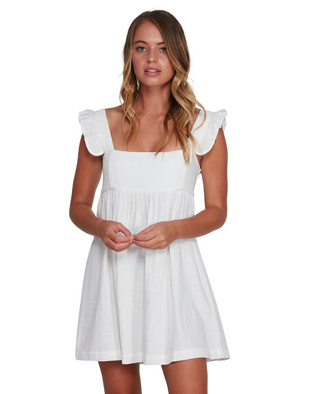 WHITE WOMENS CLOTHING BILLABONG DRESSES - BB-6504471-WHT