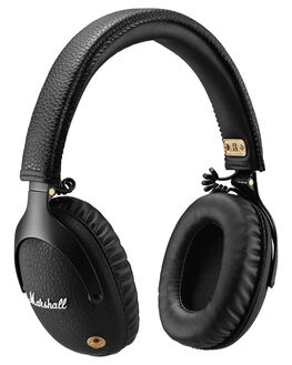 BLACK MENS ACCESSORIES MARSHALL AUDIO + CAMERAS - 150531BLK