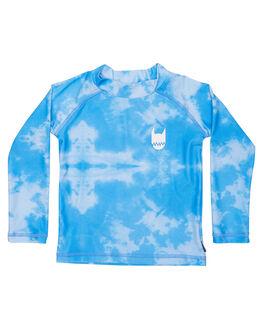 BLUE TYE DYE SURF RASHVESTS MUNSTER KIDS TODDLER BOYS - MK171RA04BLUTD
