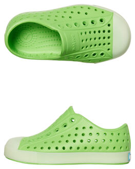 RIDDLE GREEN KIDS TODDLER BOYS NATIVE FOOTWEAR - 13100103-8494