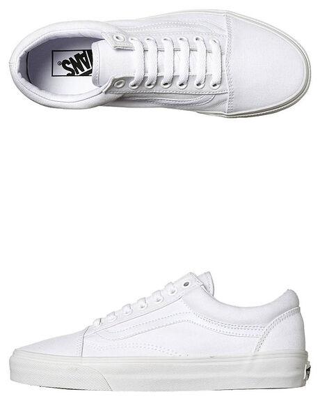 TRUE WHITE WOMENS FOOTWEAR VANS SNEAKERS - SSVN-0D3HW00WHIW