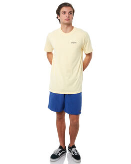 CREST YELLOW MENS CLOTHING PATAGONIA TEES - 39045CSTY