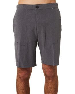 BLACK HEATHER MENS CLOTHING HURLEY SHORTS - AJ2629032