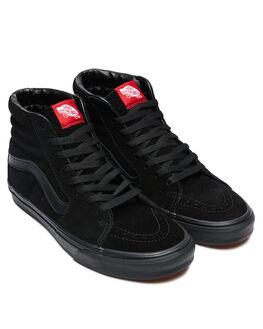 BLACK BLACK WOMENS FOOTWEAR VANS SNEAKERS - SSVN00D5IBKAW