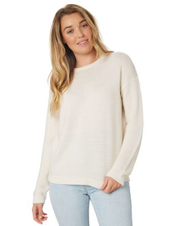 CREAM WOMENS CLOTHING SWELL KNITS + CARDIGANS - S8189148CREAM