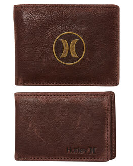 BAROQUE BROWN MENS ACCESSORIES HURLEY WALLETS - HU0093237