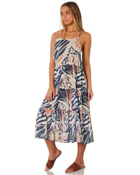 BLUE SAPHIRE WOMENS CLOTHING RUSTY DRESSES - DRL1001BPH