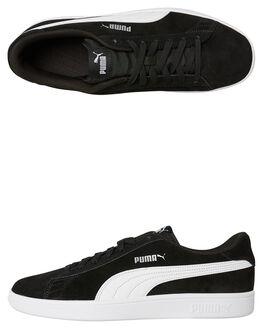 BLACK WHITE MENS FOOTWEAR PUMA SNEAKERS - 36498901BLKW