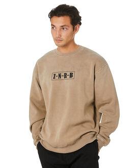 TIMBER MENS CLOTHING ZANEROBE JUMPERS - 405-FLDITIMB