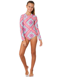MULTI KIDS GIRLS SEAFOLLY SWIMWEAR - 15627-005MUL