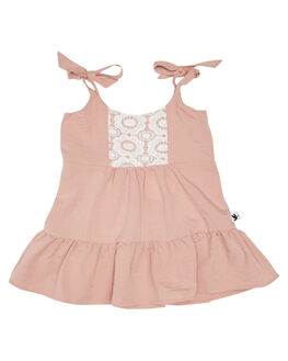 BLUSH KIDS GIRLS KISSED BY RADICOOL DRESSES + PLAYSUITS - KR1133BLSH