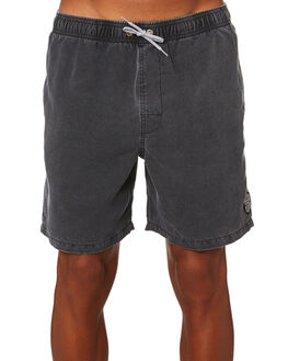 BLACK MENS CLOTHING RIP CURL BOARDSHORTS - CBOBK90090