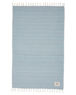 TURQUOISE WOMENS ACCESSORIES MAYDE TOWELS - 18PERETUR