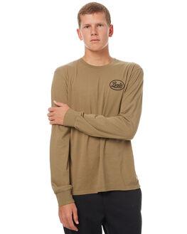DUSTY OLIVE MENS CLOTHING BRIXTON TEES - 06617DYOLI