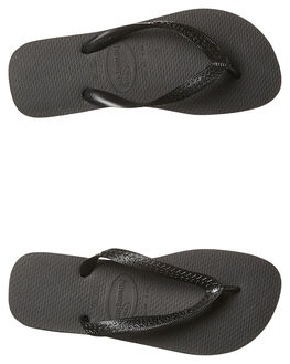 BLACK MENS FOOTWEAR HAVAIANAS THONGS - HTCT0090BLK