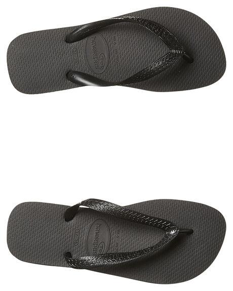 BLACK MENS FOOTWEAR HAVAIANAS THONGS - HTCT0090BLK