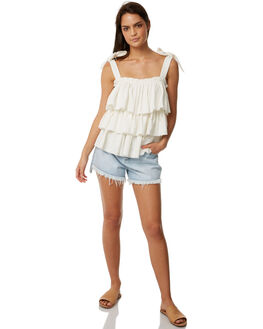 CEMENT WASH WOMENS CLOTHING THE HIDDEN WAY SHORTS - H8182191CMENT