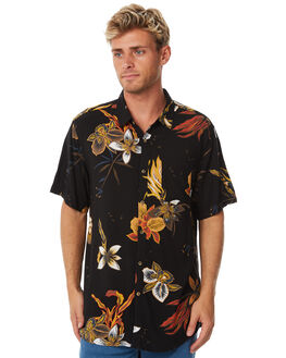 BLACK MENS CLOTHING BILLABONG SHIRTS - 9585204BLK