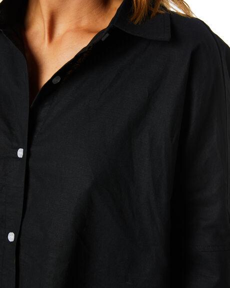 BLACK WOMENS CLOTHING SNDYS FASHION TOPS - SET202BLK