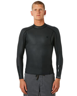 BLACK SURF WETSUITS HURLEY VESTS - 89093000A