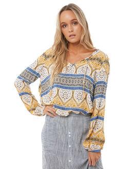 MALLOW NEW MAIDEN WOMENS CLOTHING ROXY FASHION TOPS - ERJWT03195WBT2