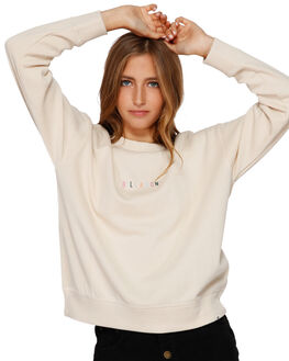 ANTIQUE WHITE WOMENS CLOTHING BILLABONG JUMPERS - BB-6591732-A75