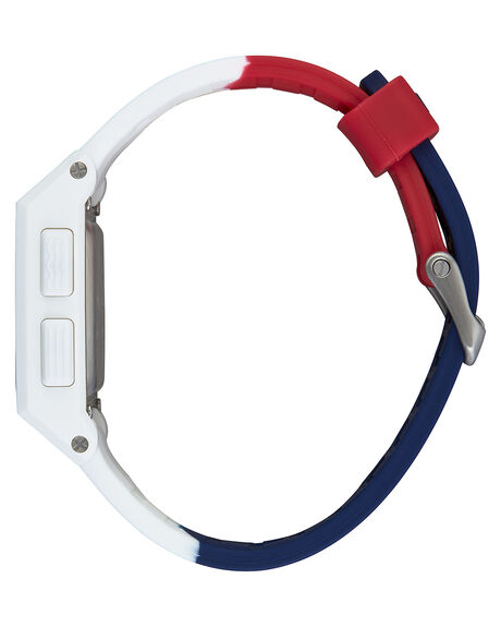 RED WHITE BLUE MENS ACCESSORIES NIXON WATCHES - A1104-083-00RWB