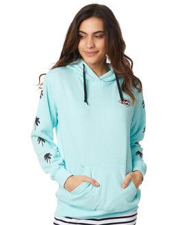 ARUBA BLUE WOMENS CLOTHING BILLABONG JUMPERS - 6575662X_ABLU