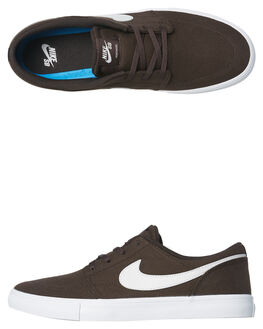 VELVET BROWN WHITE MENS FOOTWEAR NIKE SNEAKERS - 880268-202