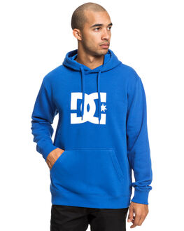 NAUTICAL BLUE MENS CLOTHING DC SHOES JUMPERS - EDYSF03165-BQR0