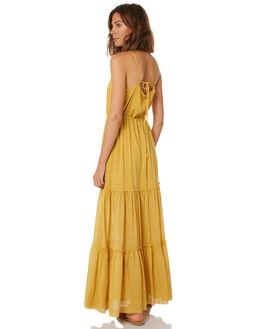 YELLOW WOMENS CLOTHING RUE STIIC DRESSES - WS18-37-Y-CSYEL