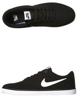 176b675b4c52 BLACK WHITE MENS FOOTWEAR NIKE SKATE SHOES - SS843896-001M