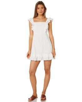 WHITE WOMENS CLOTHING RUE STIIC DRESSES - SA19-18-W1