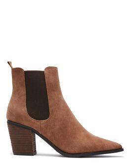 TAN WOMENS FOOTWEAR THERAPY BOOTS - 10537TAN