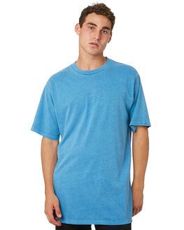 WASHED BLUE MENS CLOTHING ELEMENT TEES - 186024WSBLU