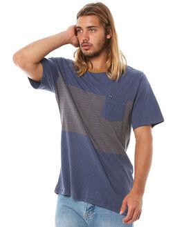 DEEP BLUE MENS CLOTHING VOLCOM TEES - A0111803DPB