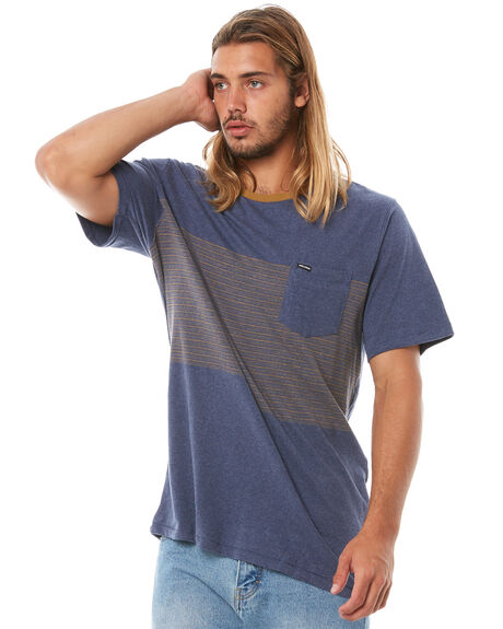 DEEP BLUE MENS CLOTHING VOLCOM TEES - A0111803DPB