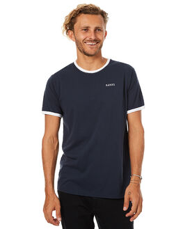 DIRTY DENIM MENS CLOTHING BANKS TEES - WTS0162DDN