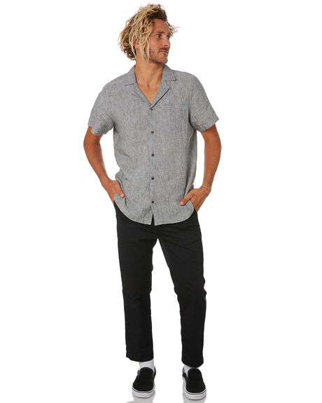 PINSTRIPE MENS CLOTHING MR SIMPLE SHIRTS - M-04-40-39PIN